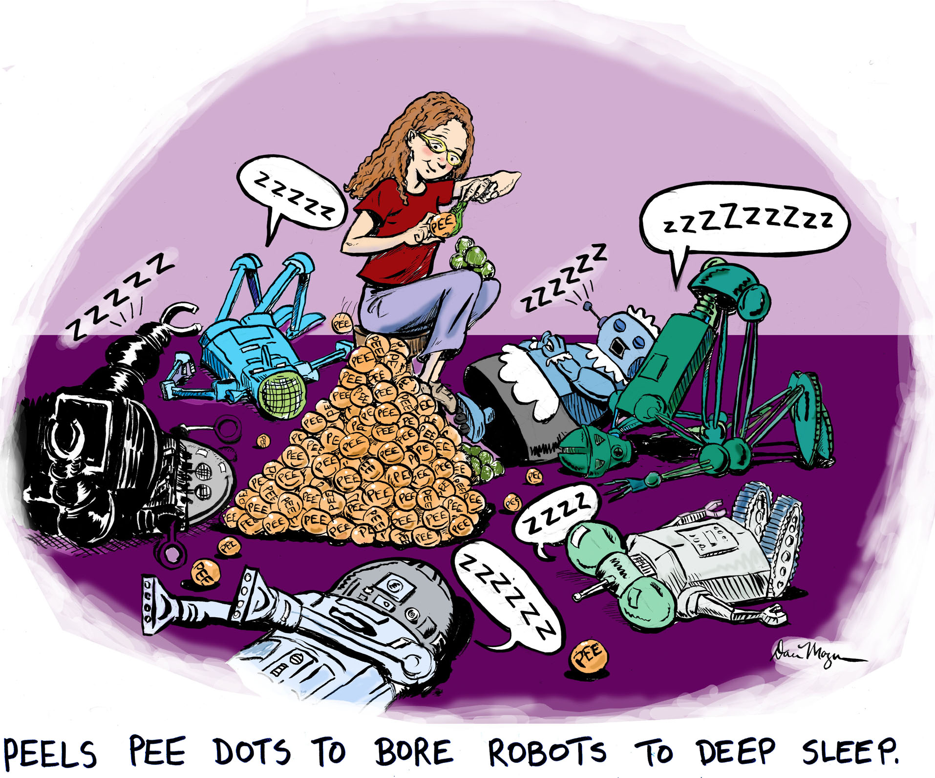 BORED ROBOTS reduced
