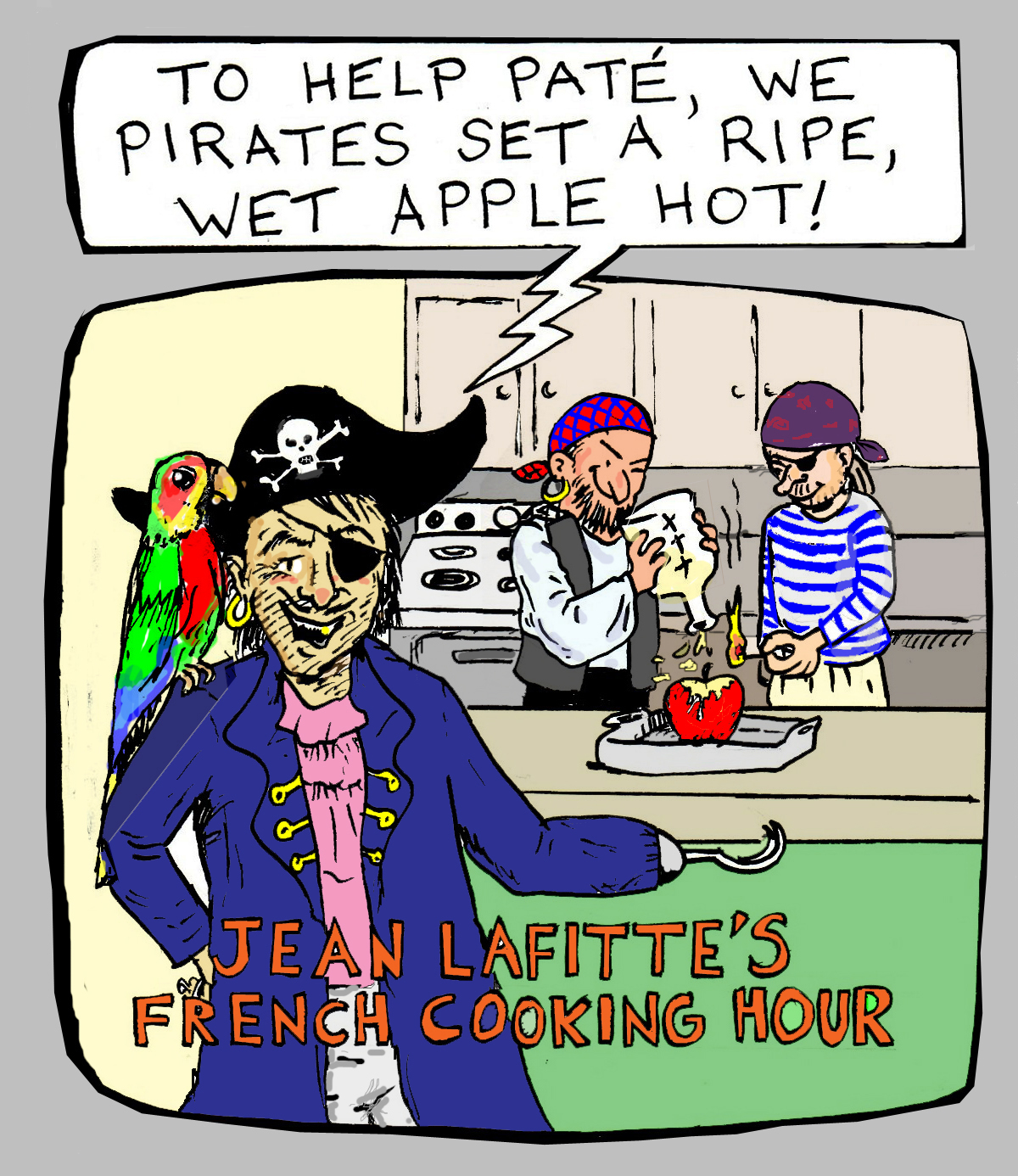 pirates - color