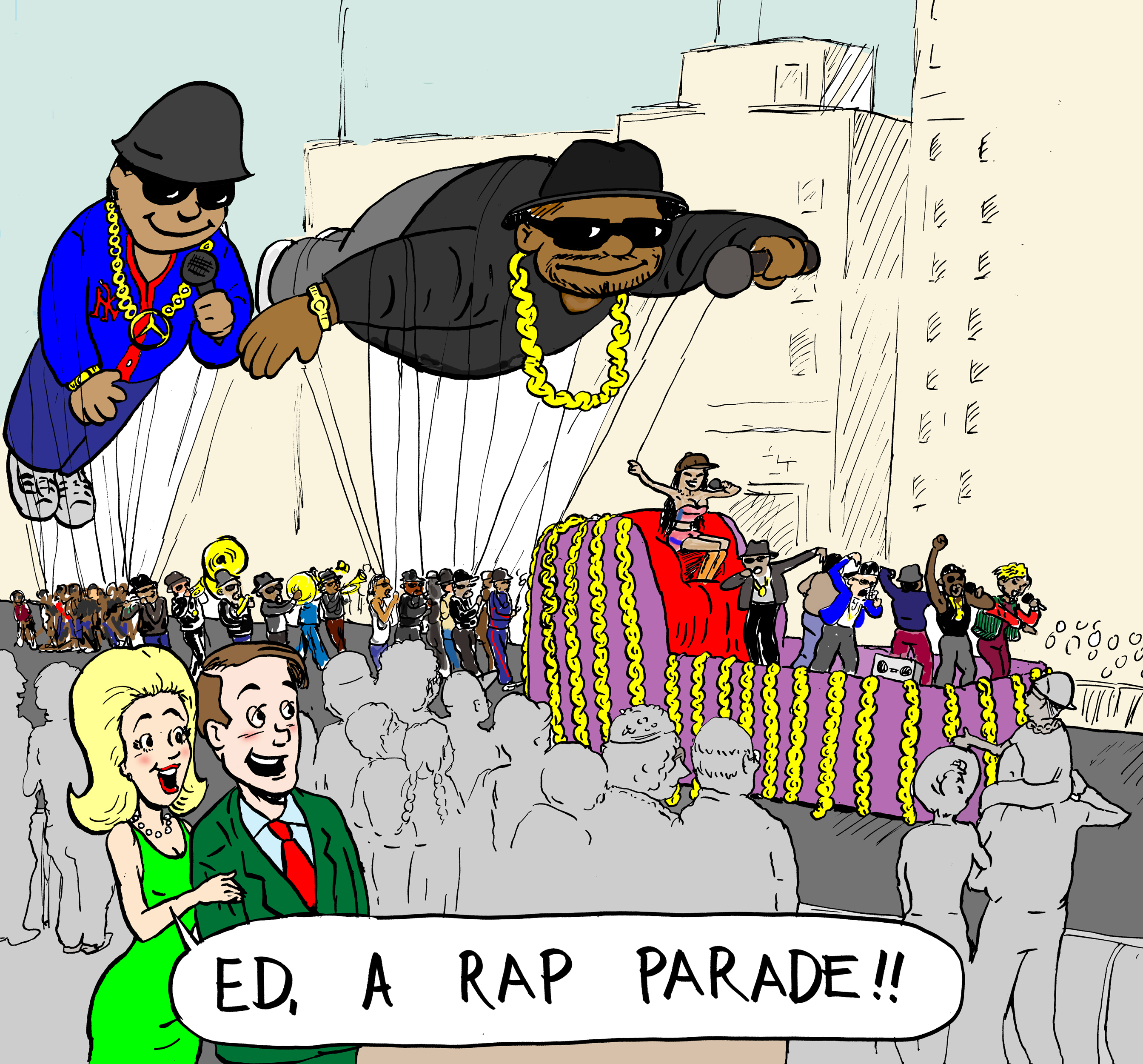 rap parade - reduced