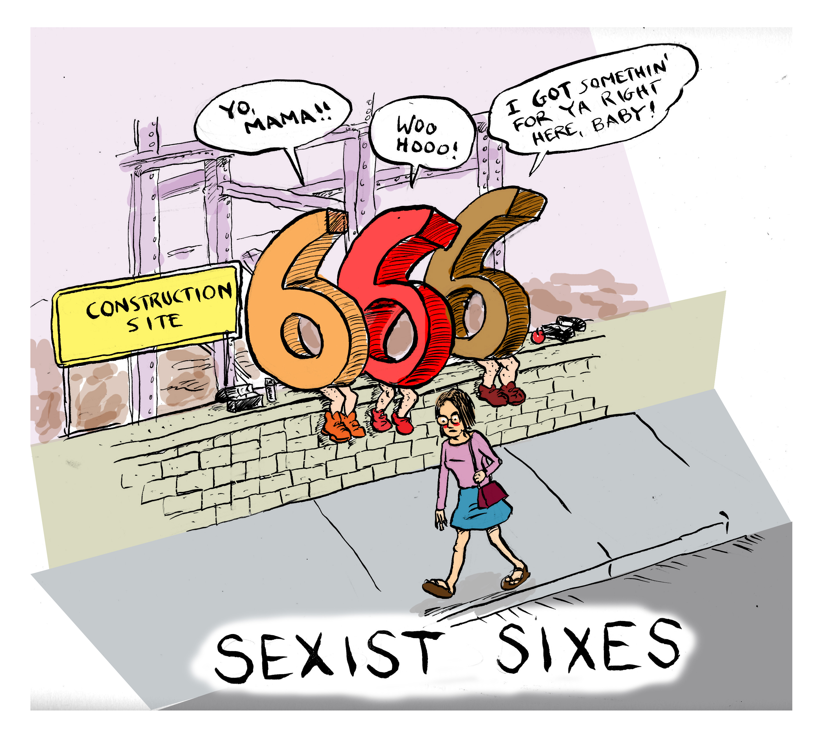 sixes - color