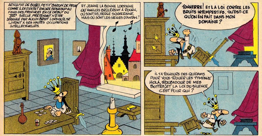 Noel Bissot - LesHallucinationsDuBaron - Spirou 1440 - 18 Nov 1965 DETAIL