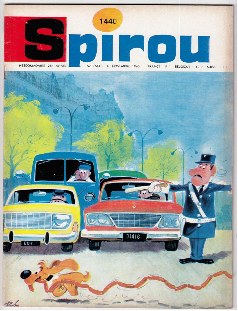 Roba - SPIROU 144 - 18 Nov 1965