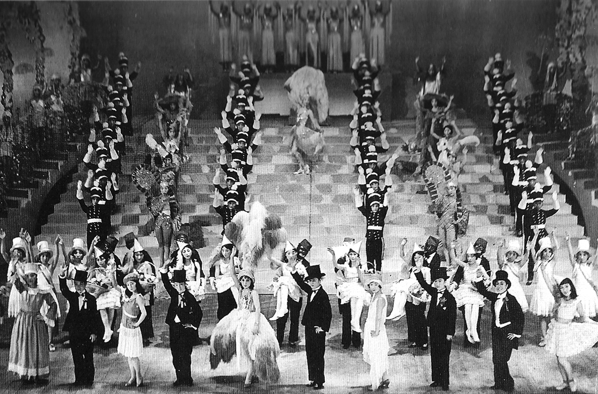 A Takarazuka spectacle from 1930