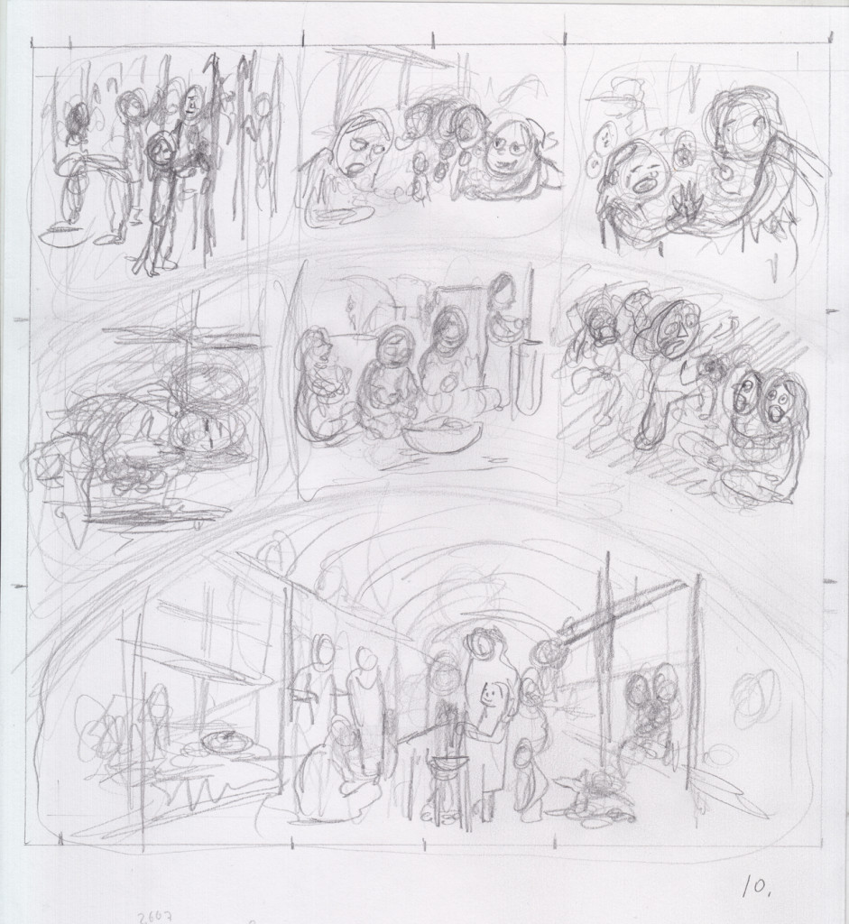 Eunice Williams story, page 10, thumbnail,  Dan Mazur