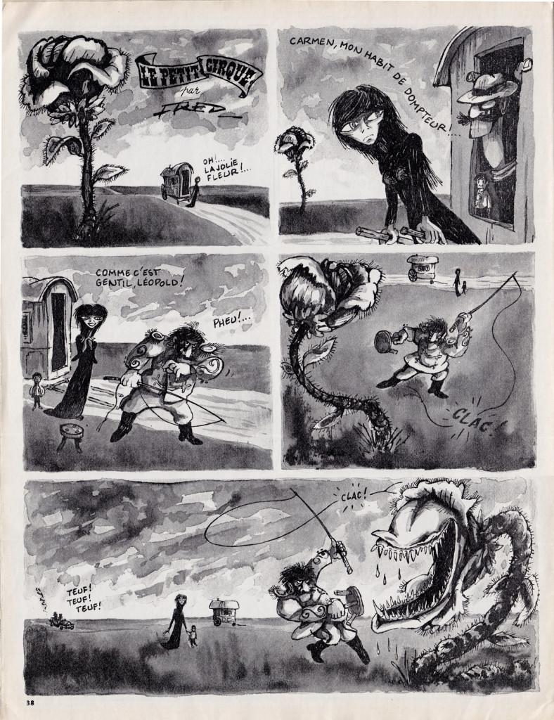 Fred - Le Petit cirque -Harakiri 51 1965