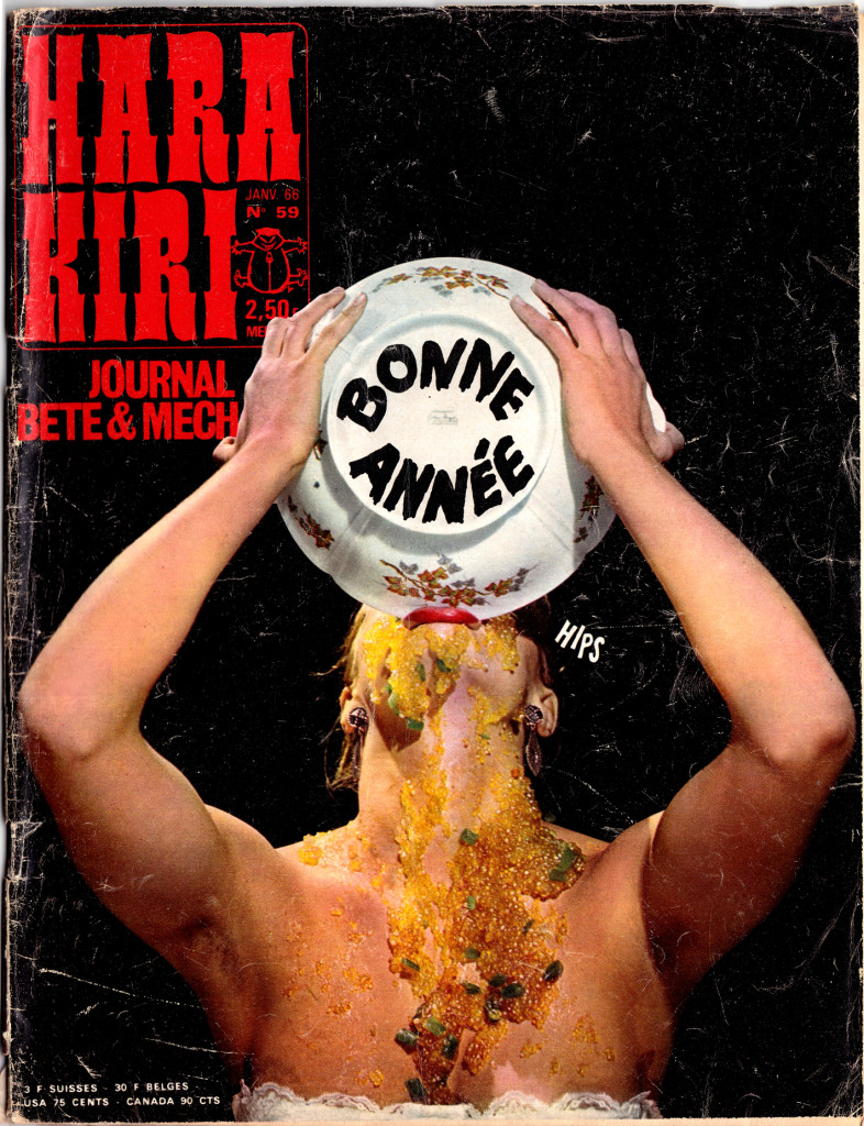 HARA KIRI 59 cover 1966