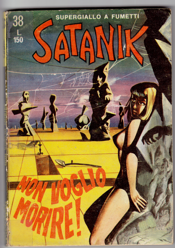 Satanik #38, June 1966