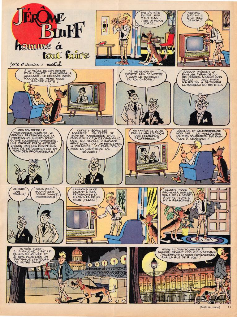 "Martial - ""Jerome Buff, homme a toute faire"" (Jerome Buff, Handyman), March 1963"