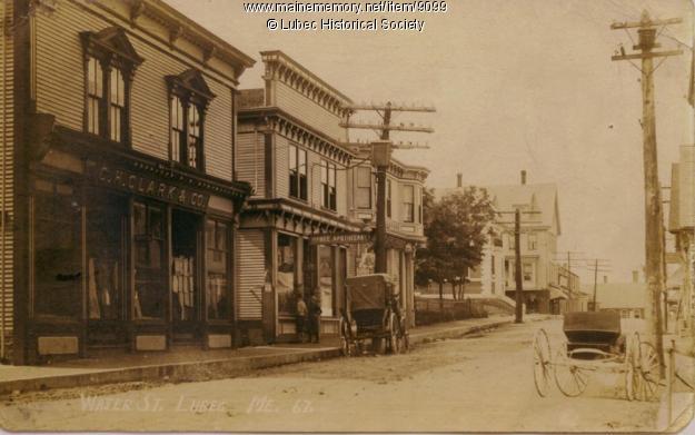 Water Street 1911