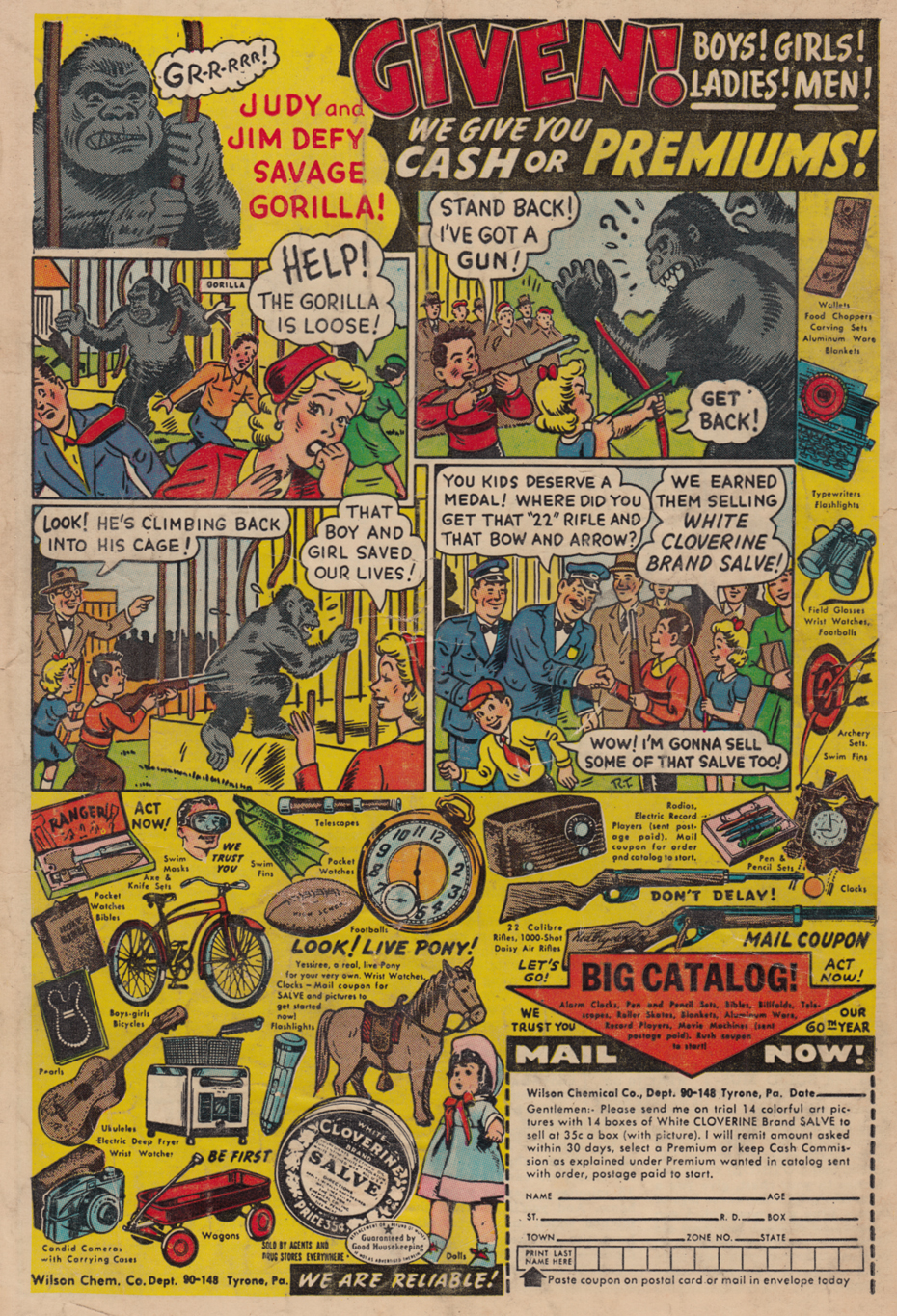 3 Gorilla ad - Battle n41 july 55
