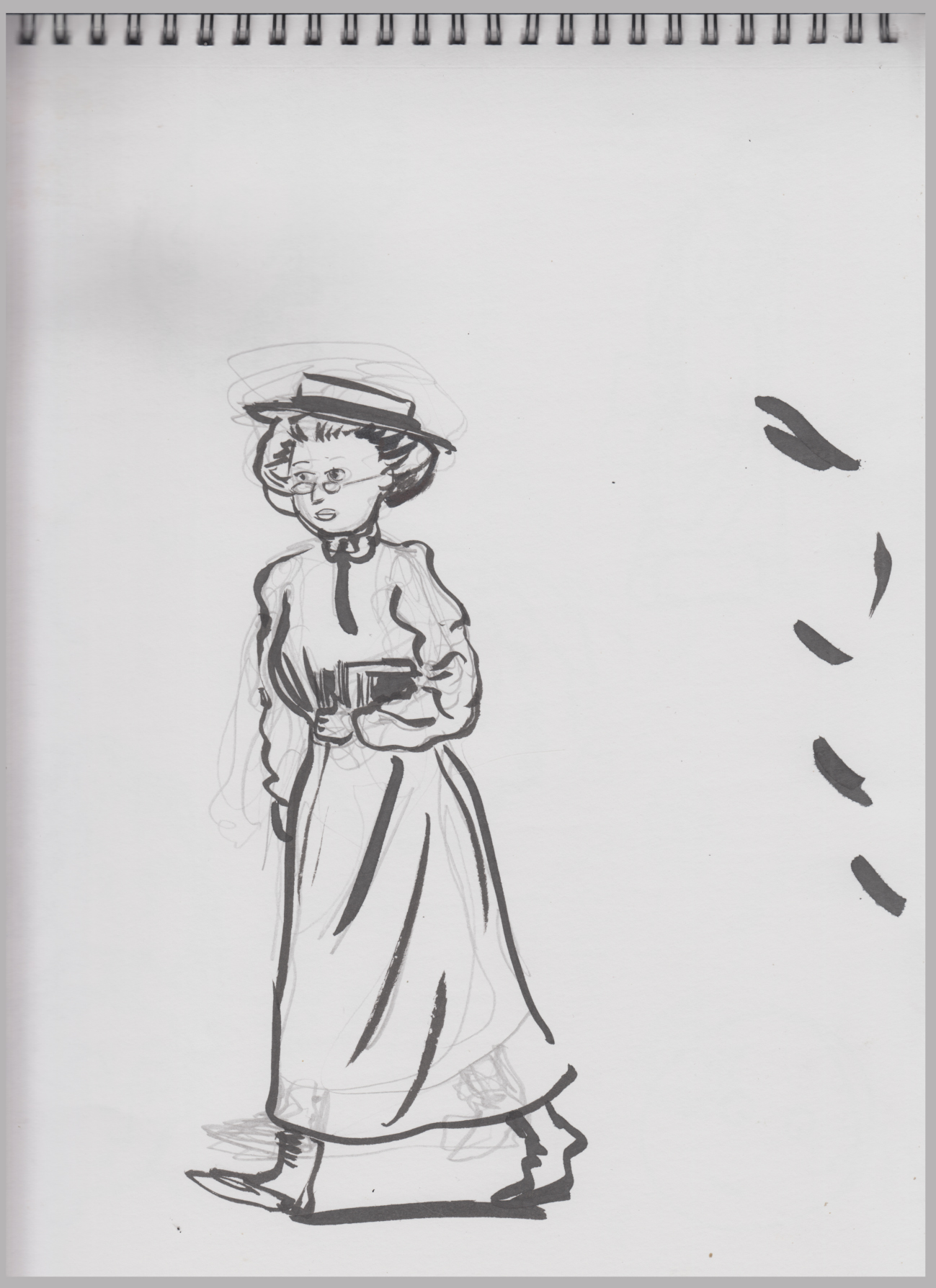 7-7-16 character sketch