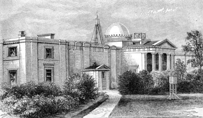 Cambridge University observatory