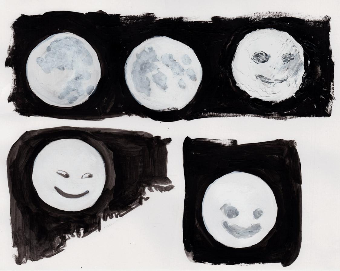 moon drawings 2 7-14