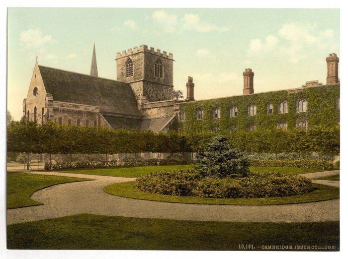 victorian-view-of-cambridge-university-jesus-college-england-colour-photograph-picture-print-1--choice-a1-matt-paper-4861-p