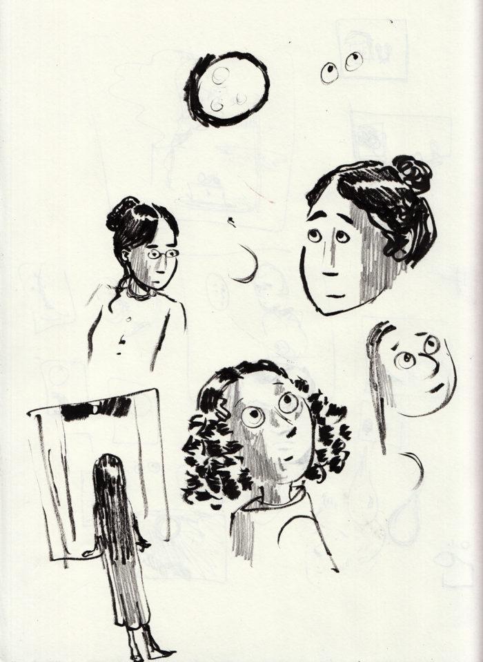 Lunatic sketches