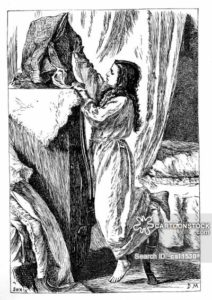 Illustration for 'Wives and Daughters', scene 2.