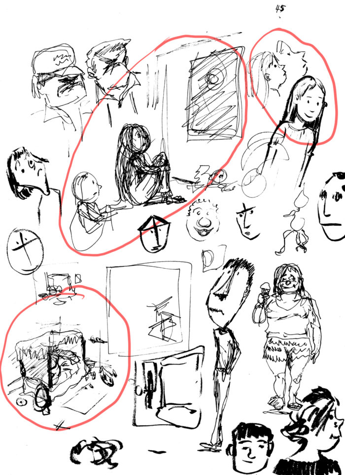 early sketches 2