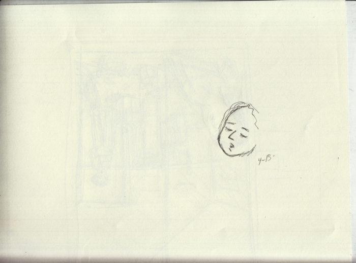 p16 sketch - face - 4-15