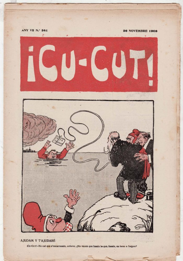 CU-CUT, November 26, 1908. Front cover