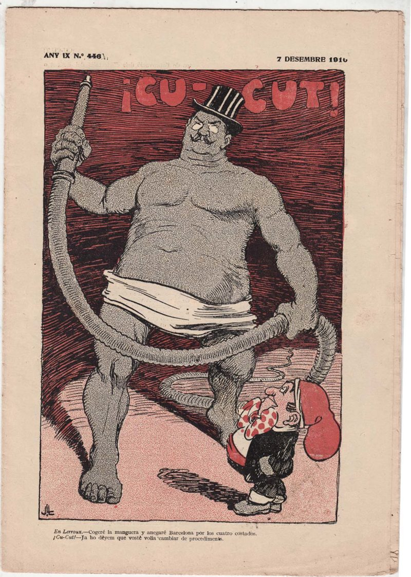 """Cu-cut,"" 7 December 1910, front cover"